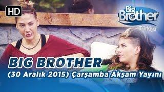 Big Brother Türkiye (30 Aralık 2015) Çarşamba Akşam Yayını - Bölüm 37