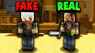 FAKE INFECTED TROLL! (Minecraft Murder Mystery Trolling)