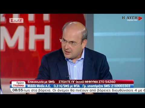 """Χατζηδάκης: Είχα επισημάνει τις """"λογιστικές αναταξινομήσεις"""" του 2009 και 2010"""