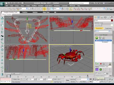 3d Max 2011 CAT Tutorial.avi