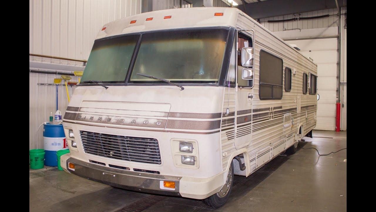 medium resolution of 1986 winnebago chieftain 31 stock 17009