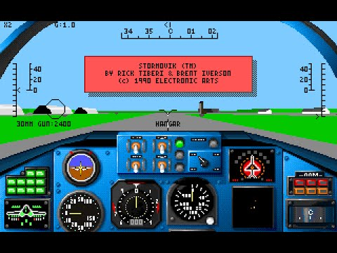 Stormovik: SU-25 Soviet Attack Fighter (PC/DOS) 1990, Electronic Arts