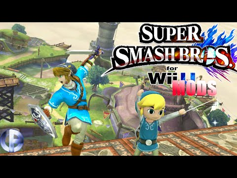 Breath of The Wild Skins!   Link vs  Toon Link [Mod Showcase]