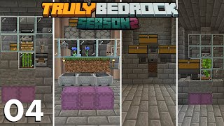 The 4 Microfarms Everyone Should Have, Inside My 1 Chunk Wizards Tower | Truly Bedrock S2 E4