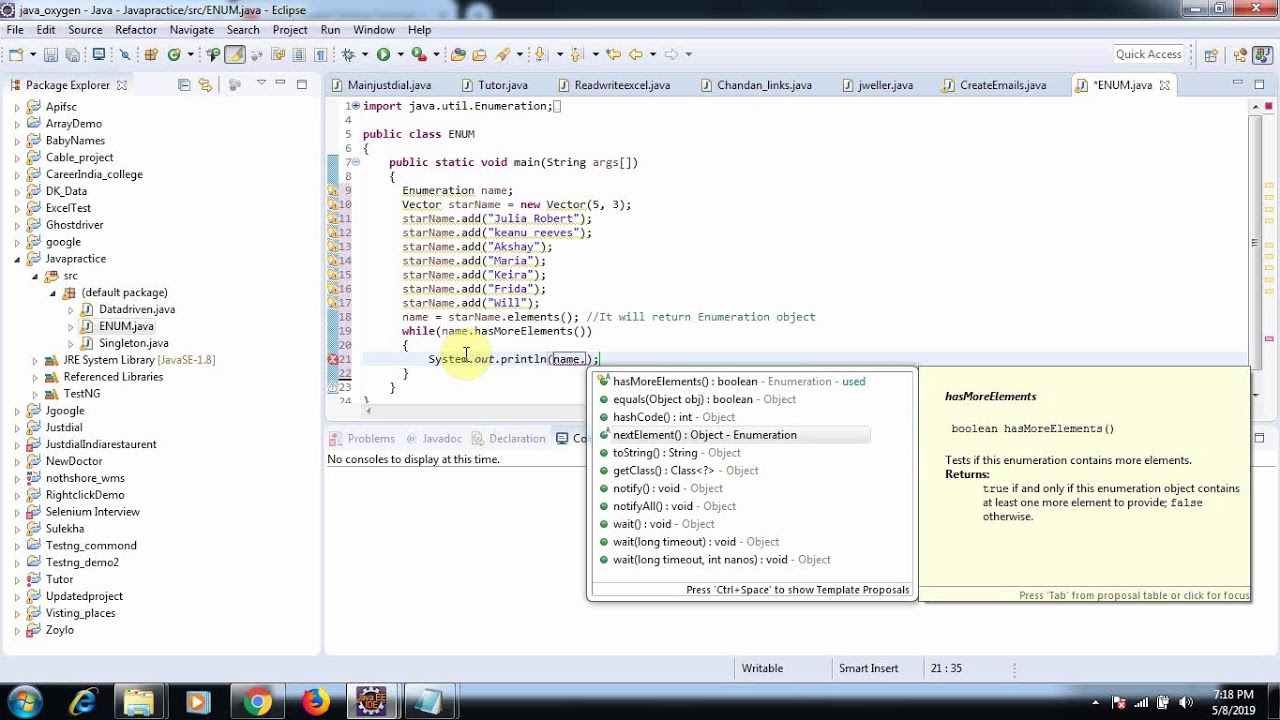 Best Online Software Testing Tutorial way2testing: Data