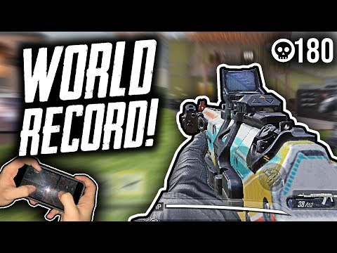 Slaying With The Best COD Mobile Players In The World!! Hardpoint Kills World Record