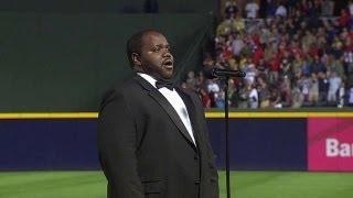MIA@ATL: Opera singer belts out 'God Bless America'