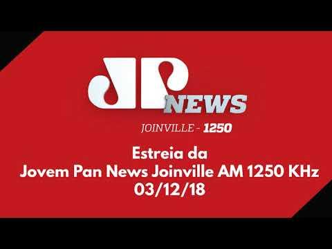 Rádio Cultura Agora é Jovem Pan News Joinville AM 1250 KHz | Confira á Estreia Completa | 03/12/18