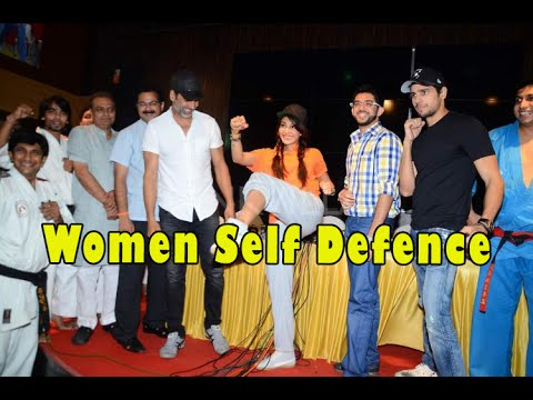 Akshay Kumar - Sidharth Malhotra - Jacqueline Fernandez With Aditya Thackeray - Womene Self Defence