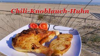 #369: Chili-Knoblauch Huhn (mit Knoblauch-Chili-Ajoli)