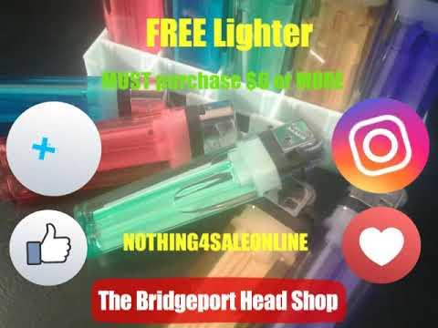 509 The Bridgeport Heaf Shop - FREE Lighter - Dabz509
