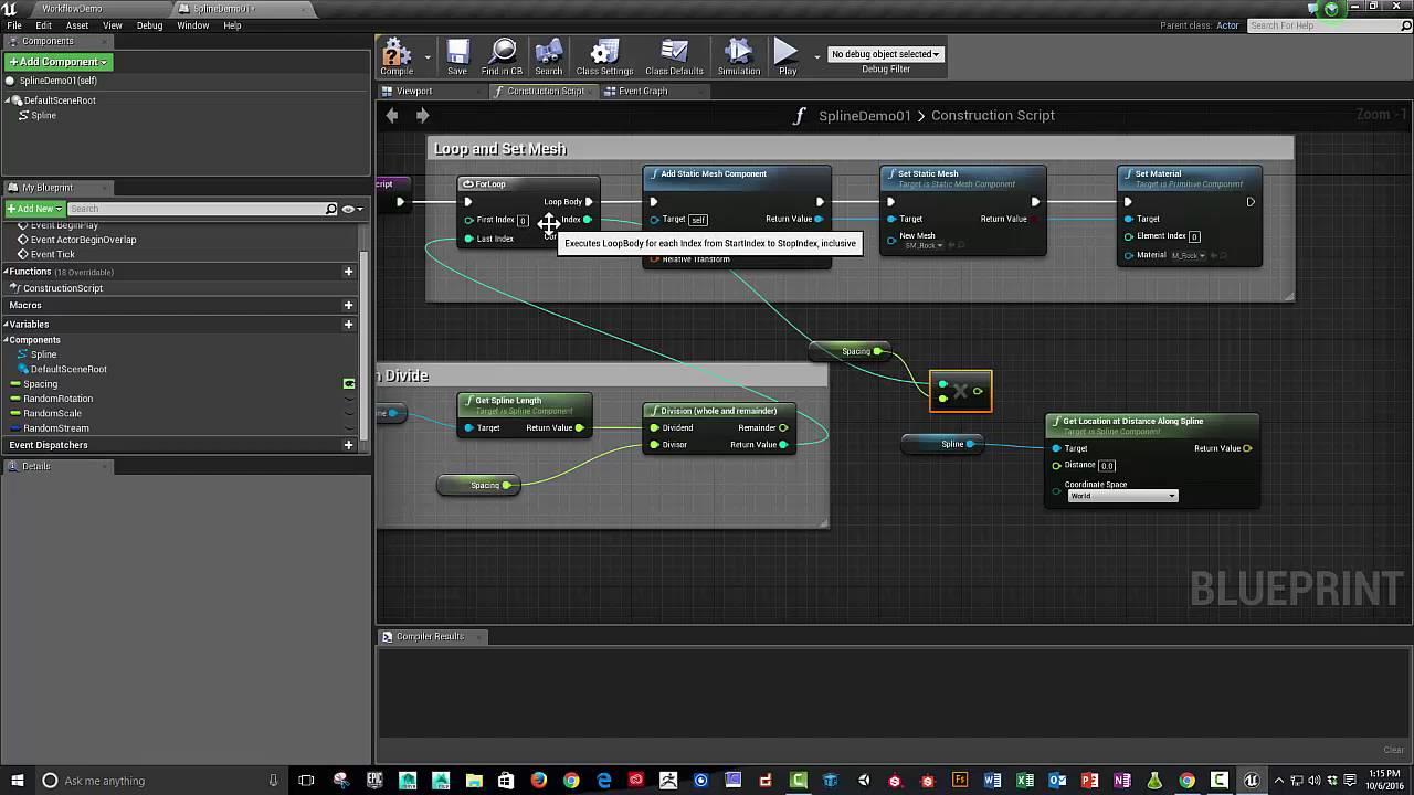 Unreal 4 blueprint spline tutorial 1 of 2 youtube unreal 4 blueprint spline tutorial 1 of 2 malvernweather Gallery