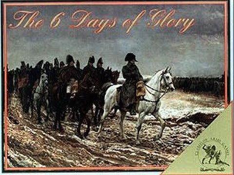 Download 44.1.- The 6 Days of Glory (Clash of Arms Games): Componentes.
