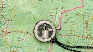 Орієнтування по карті і компасу. Детальна інструкція.