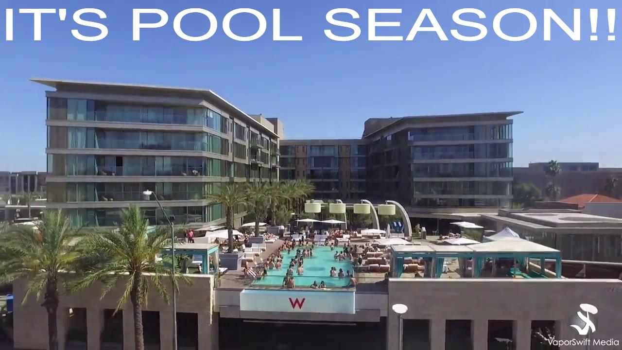It S Pool Season W Hotel In Scottsdale Arizona Youtube