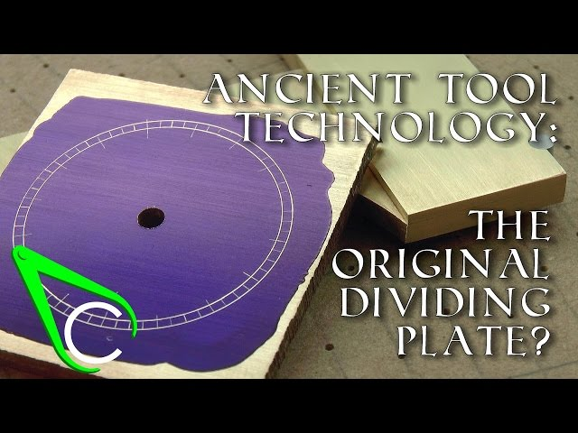 Antikythera Fragment #2 - Ancient Tool Technology - The Original Dividing Plate?