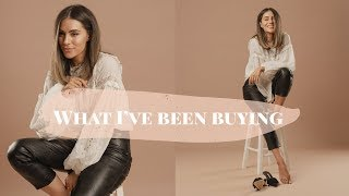 WHAT I BOUGHT THIS MONTH | Lydia Elise Millen