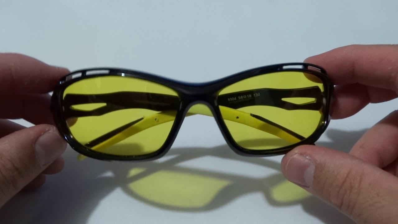 Óculos Visão Noturna para dirigir a noite + caça, pesca e tiro Esportivo  Polarizado UV400 ae4e4b2182