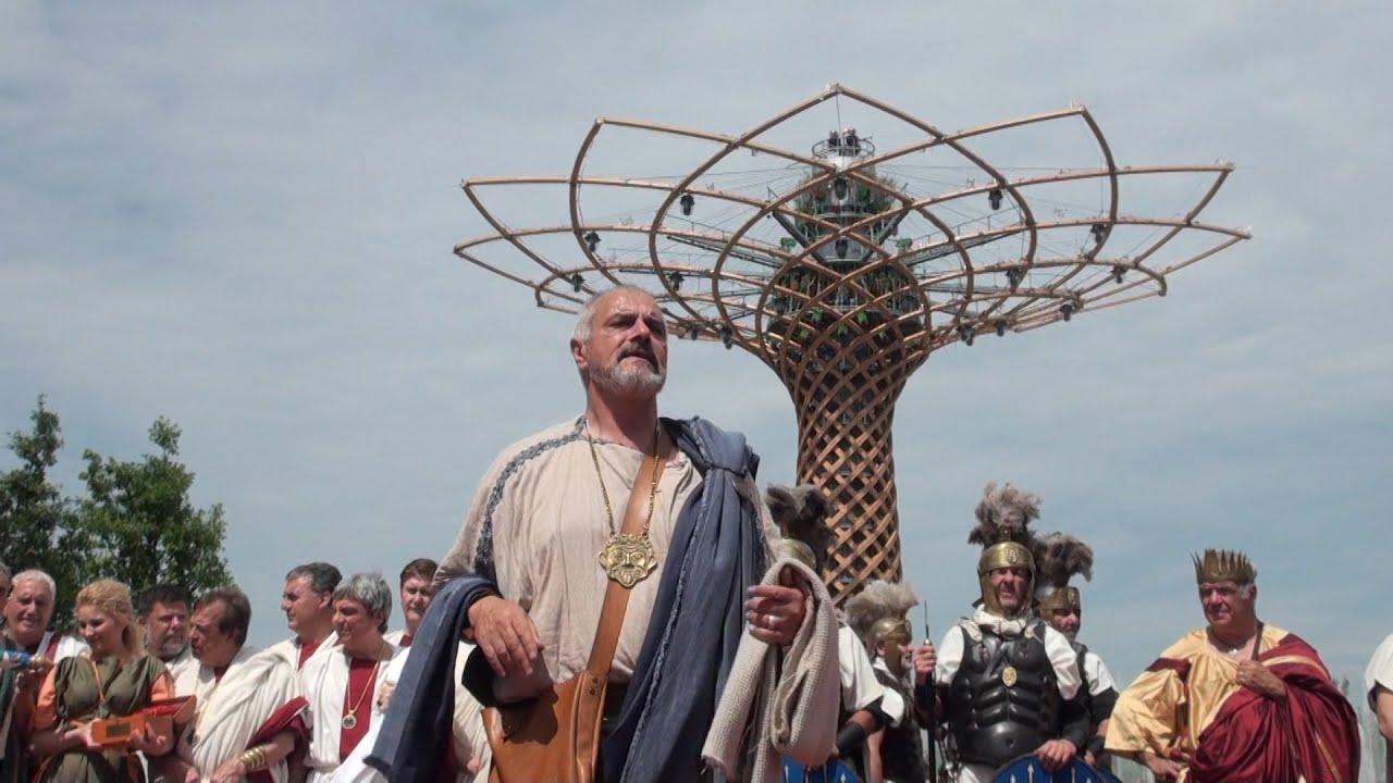 Matrimoni Romani Antichi : Expo gli antichi romani animano i padiglioni con