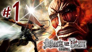 Attack on Titan Wings of Freedom - Parte 1: Apocalipse Titã! [ PS4 Playthrough Shingeki no Kyojin ]