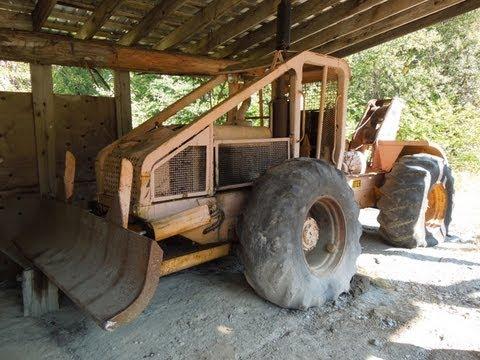 1965 Garrett Tree Farmer C4 Log Skidder | Doovi