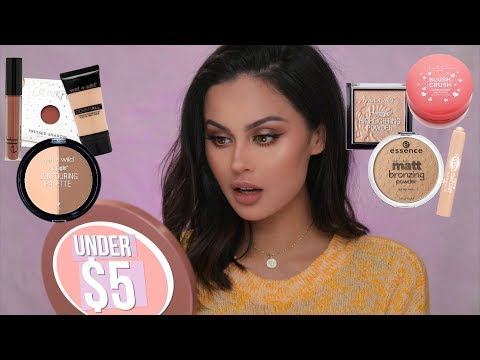 Full Face Of Drugstore Makeup Under $5