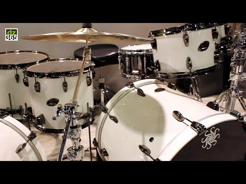 Sakae's New Evolved Maple Drums, Walnut Snare Drum And Cajons