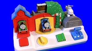 Thomas & Friends Pop-up Surprise Pals VS. Sesame Street vs. Disney Baby Minnie Mouse pop-up