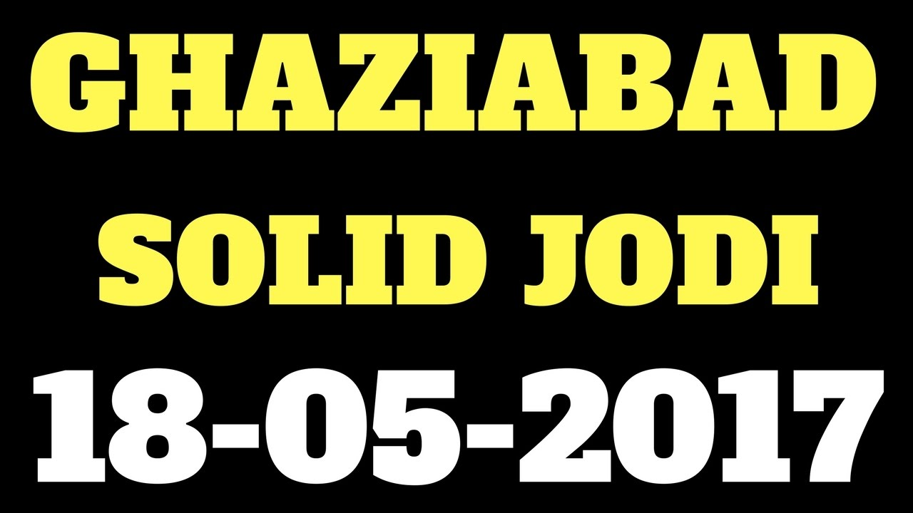 GHAZIABAD ONLY || Ghaziabad satta chart Satta Disawar || 18