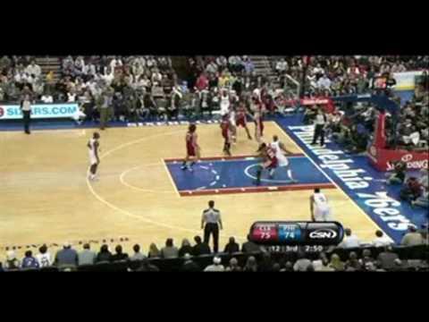 Allen Iverson Highlights vs LeBron James Shaq Cavs 09/10 NBA
