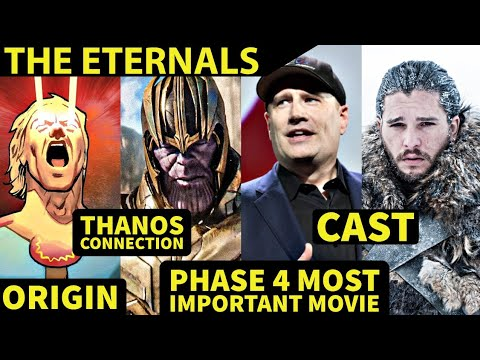 Who Are The Eternals!   Fully Origin Story Explained in Hindi   SUPER INDIA  