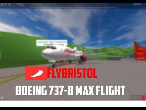 ROBLOX   FlyBristol Boeing 737-8 MAX Flight
