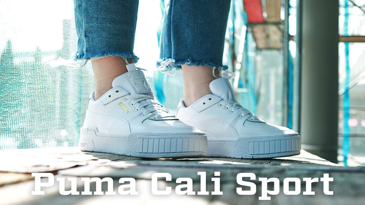 on Feet: Puma Cali Sport - 373871-01