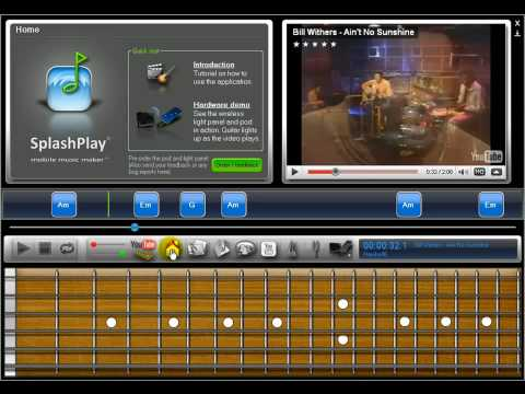 New software to help beginners learn the guitar easily