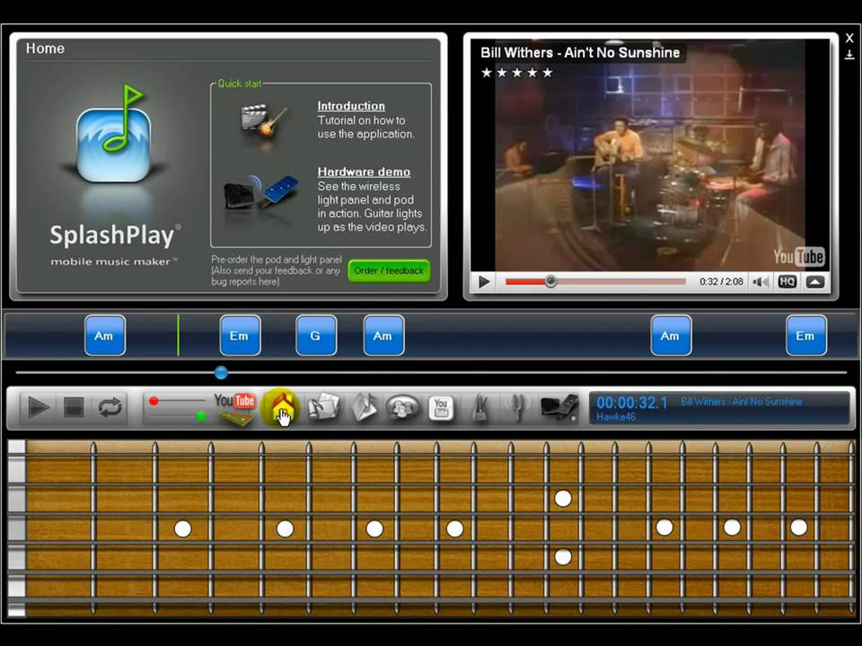 New software to help beginners learn the guitar easily ...