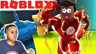 I'M KID FLASH! Let's Play Roblox Red vs Blue Vs Green Vs Yellow | Playonyx