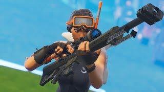 I love to snipe in Fortnite - code MasterTk - Jocelyn Flores (Downtime Remix)