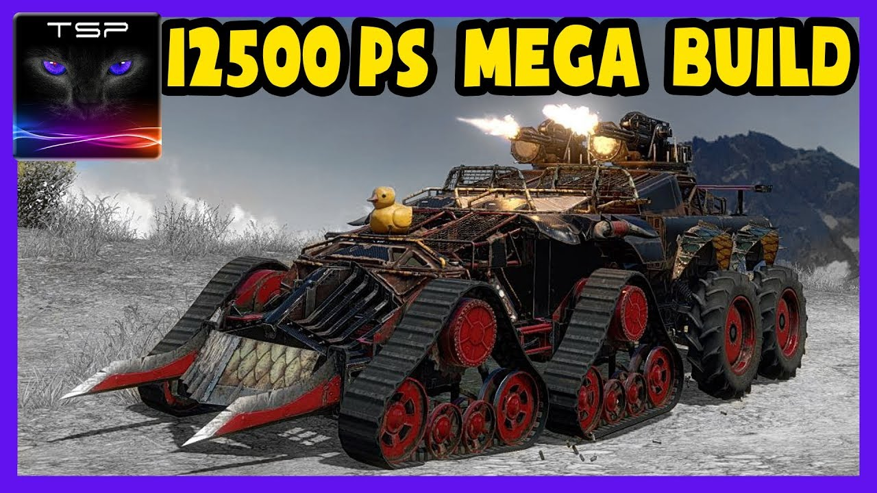 Crossout #143 Best Looking Ultimate 12500 Ps Build Ever