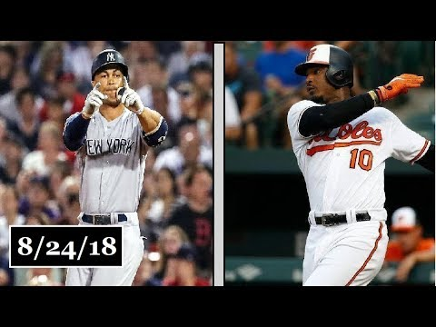 New York Yankees vs Baltimore Orioles Highlights || August 24, 2018