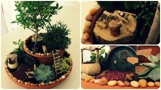 Fairy Garden #4 * DIY * Minigarten im Topf
