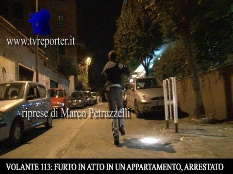 VOLANTE 113: FURTO IN ATTO IN UN APPARTAMENTO, ARRESTO IN DIRETTA from YouTube · Duration:  5 minutes 52 seconds