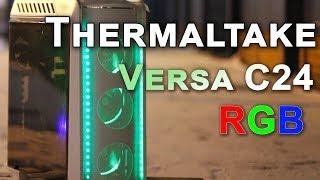 thermaltake Versa C24 RGB Snow Edition