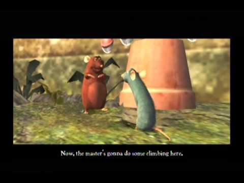 ratatouille movie game walkthrough part 1 wii youtube