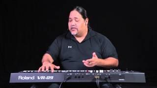 Roland V-Combo VR-09 Overview Tour