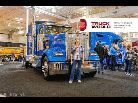 Truck World 2018 Canada Truck Show Rudi's NORTH AMERICAN ADVENTURES 04/19/18 Vlog#1408