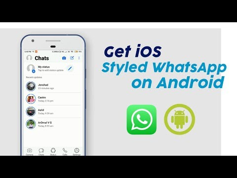 Get IOS Styled WhatsApp Theme For Android - New 2020