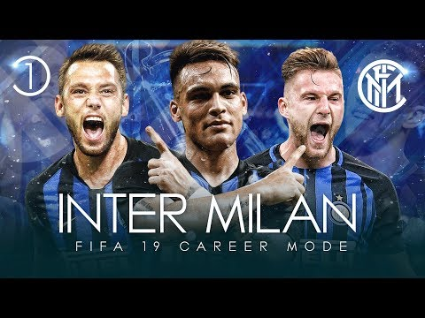 FIFA 19 Inter Milan Career Mode 🔵⚫ | S1 EP1 |  Someone Come And Confiscate Him! 🙂