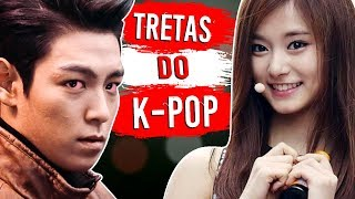 8 Maiores TRETAS do K-POP! 😱 🔥