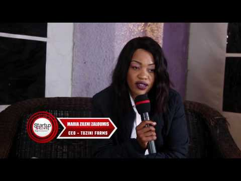 Startup Grind Lusaka hosts Maria Zileni Zaloumis (Tuzini Farms)