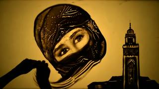 "Sand art film ""Beautiful Morocco"" by Kseniya Simonova (2013)"